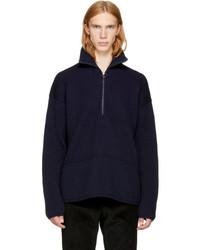 Acne Studios Navy Wool Neptune Sweater