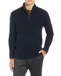Ben Sherman Regular Fit Quarter Zip Sweater