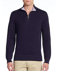 Saks Fifth Avenue Reversible Cotton Sweater