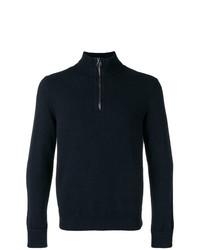 Salvatore Ferragamo Zip Knit Sweater