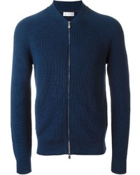 Brunello Cucinelli Ribbed Zip Cardigan
