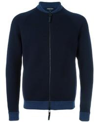 Emporio Armani Zipped Cardigan