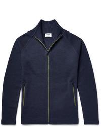Acne Studios Keep Wool Zip Up Cardigan