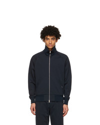 Tom Ford Navy Zip Up Sweater