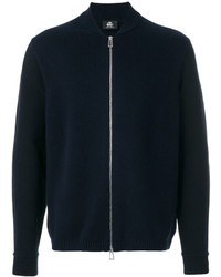 Paul Smith Ps By Zipped Cardigan