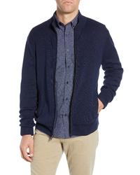 Nordstrom Men's Shop Regular Fit Mock Neck Zip Sweater