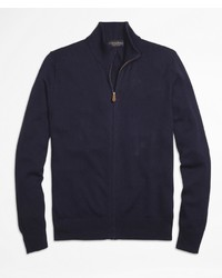 Brooks Brothers Supima Cotton Full Zip Cardigan