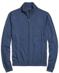 Brooks Brothers Supima Cotton Full Zip Sweater