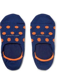 Marcoliani Invisible Touch Stretch Pima Cotton Blend No Show Socks