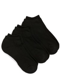 Shop 3 pack no show athletic socks medium 1264559