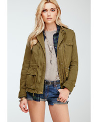 Forever 21 Classic Utility Jacket