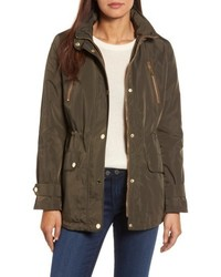 Michl michl kors faux leather trim anorak medium 4950685