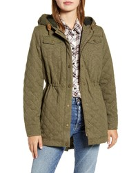 Pendleton Shelby Walter Resistant Quilted Hooded Anorak
