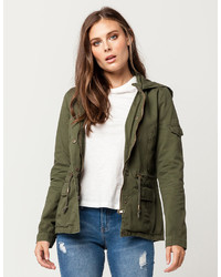 Sky And Sparrow Twill Anorak Jacket