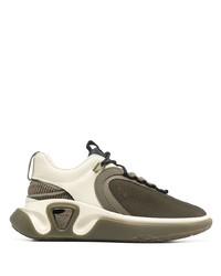 Balmain B Runner Mesh Lace Up Sneakers