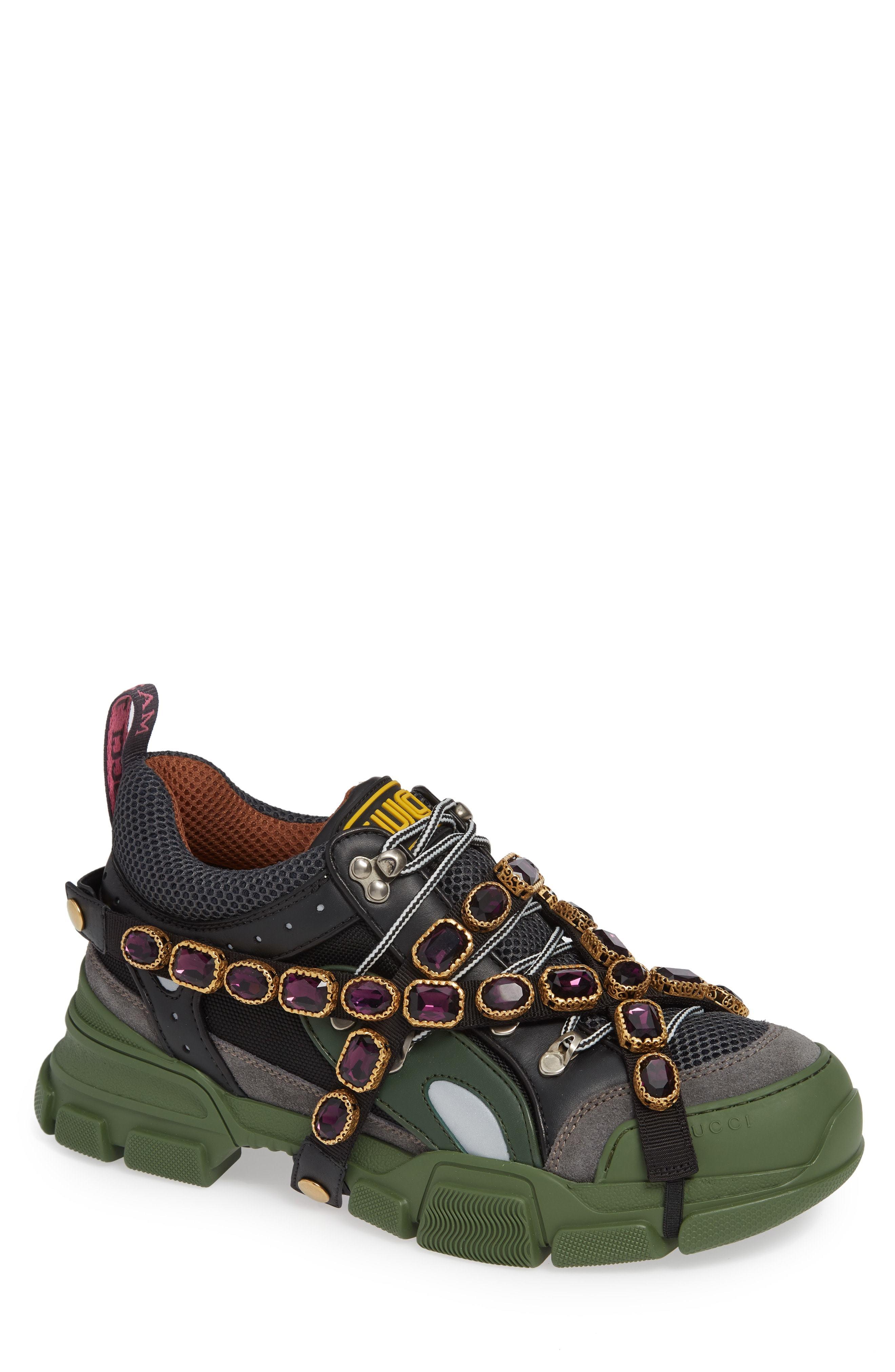 Gucci Journey Jewel Hiker Sneaker, $1