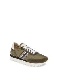 Brunello Cucinelli Stripe Runner Sneaker