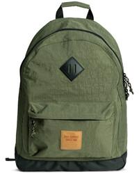 H&M Backpack Khaki Green