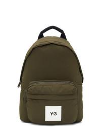 Y-3 Khaki Techlite Tweak Backpack