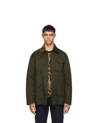 DSQUARED2 Green Kaban Jacket