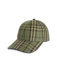 Burberry Check Baseball Cap