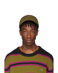 Acne Studios Green Cunov Face Cap