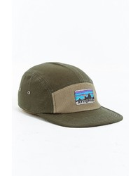 Patagonia Retro Fitz Roy Label 5 Panel Baseball Hat