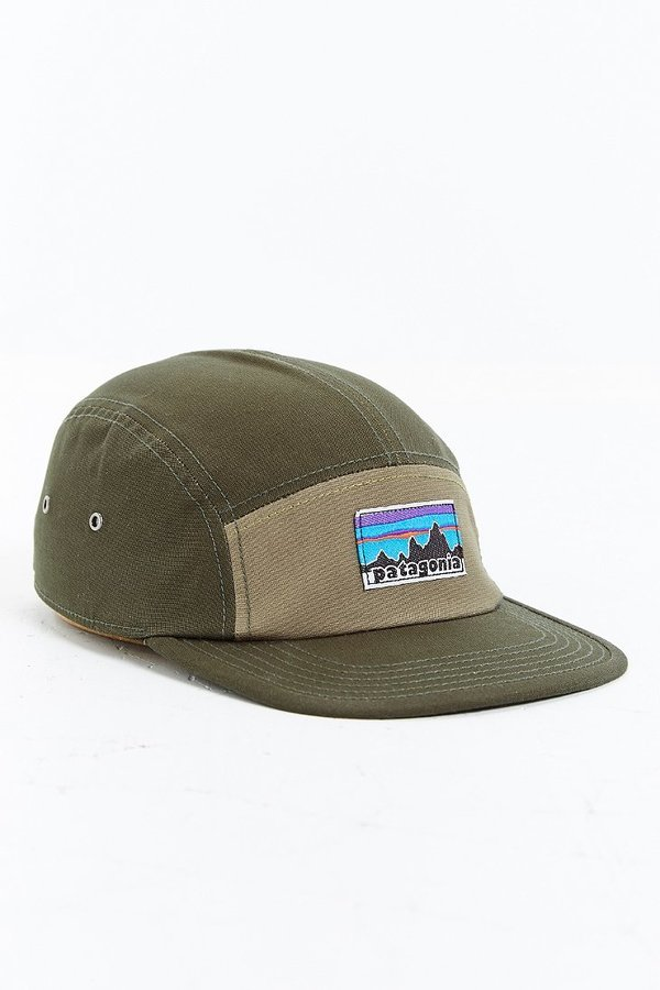 ... Patagonia Retro Fitz Roy Label 5 Panel Baseball Hat ... 9d68edbc70f