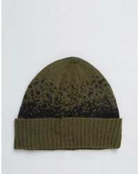 Asos Fisherman Beanie In Abstract Design