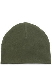 Goodmans Goodmans Reversible Cashmere Beanie Hat Green
