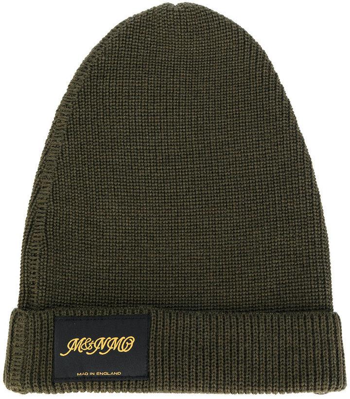 Stella McCartney Logo Patch Beanie Hat