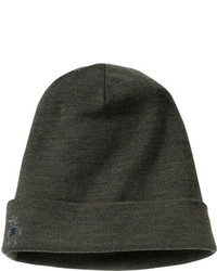 Smartwool Nts Mid 250 Cuffed Beanie Olive Heather Hats