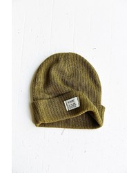 ba24fde61dc ... Urban Outfitters Reason Patch Ribbed Knit Beanie ...
