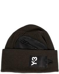 Y-3 Zip Pocket Beanie Hat