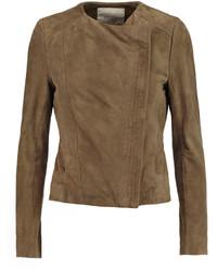 Olive biker jacket original 8877134