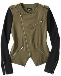 Mossimo Ponte Moto Jacket Assorted Colors
