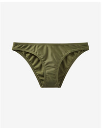 Express Low Rise Basic Bikini Swim Bottoms