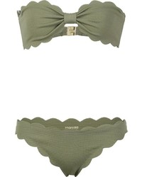 Marysia Swim Marysia Antibes Strapless Bikini
