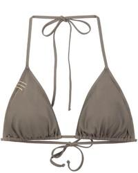 Anine Bing Stitch Detail Bikini Top