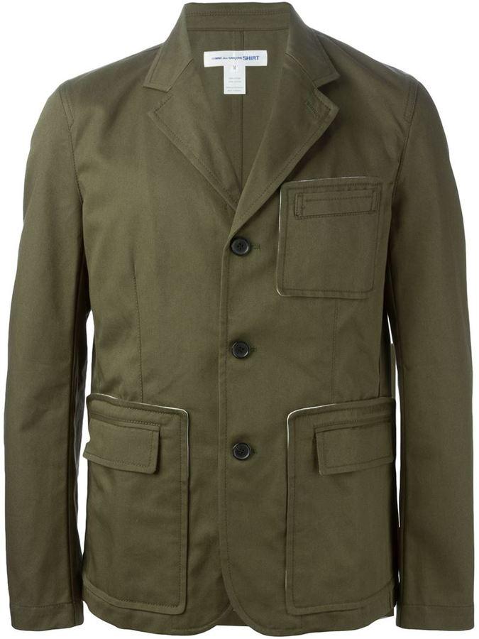 the best attitude 0a572 fb357 ... Comme des Garcons Comme Des Garons Shirt Pocket Detail Blazer