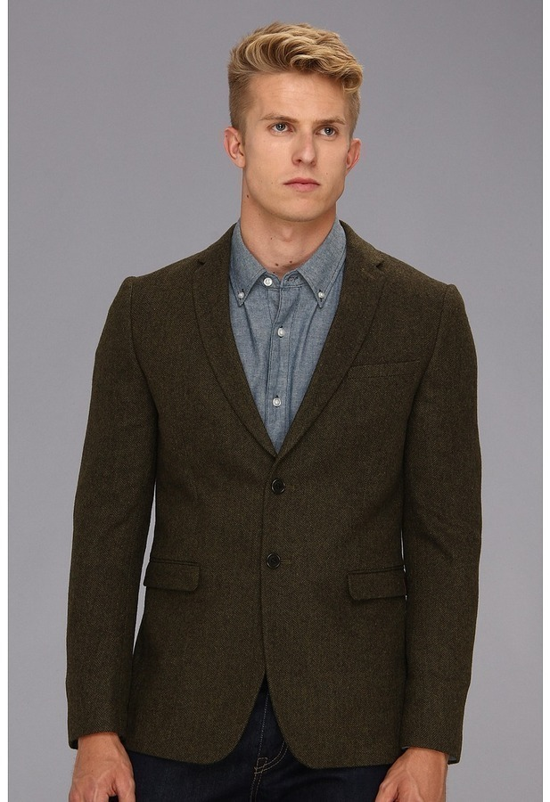 Ben Sherman Herringbone Blazer Apparel