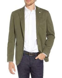 L.B.M. Lbm 1911 Classic Fit Stretch Cotton Blazer