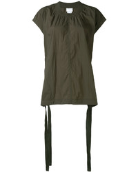 DKNY Oversized Top With Drawcords