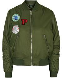 Olive bomber jacket original 4528915