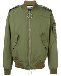 Back patch bomber jacket medium 679044