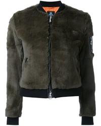 Cropped bomber jacket medium 830698