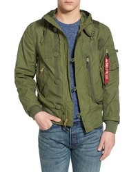 Helo water resistant bomber jacket medium 578275