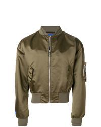 MAISON KITSUNÉ Maison Kitsun X Ader Error Zipped Bomber Jacket