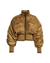 Ivy Park Military Flight Crop Bomber Jacket