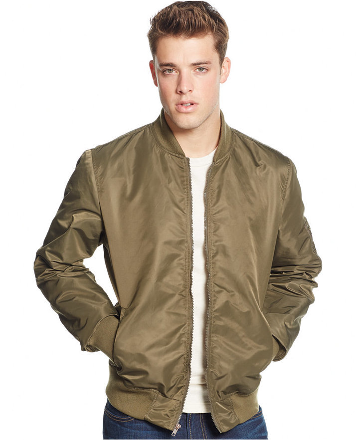 72405e3fd $34, American Rag Nylon Bomber Jacket Only At Macys